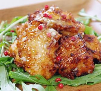 節約レシピ 大人の鶏の唐揚げ~柚子胡椒タレ~