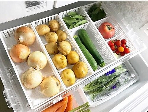 野菜室収納