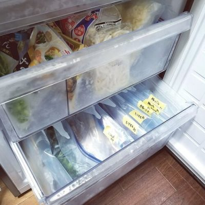 冷凍庫 収納